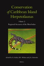Cover Conservation of Caribbean Island Herpetofaunas Volume 2: Regional Accounts of the West Indies