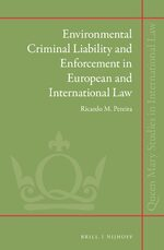 Cover Environmental Criminal Liability and Enforcement in European and International Law