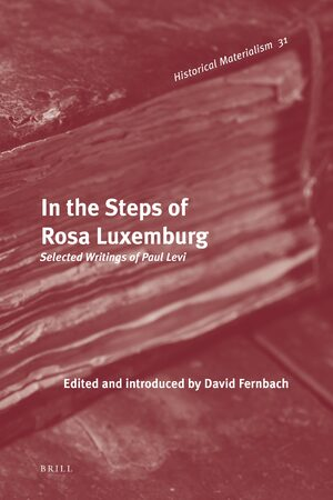 Cover In the Steps of Rosa Luxemburg