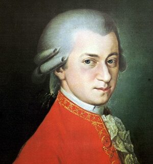 Cover Musical Scores by W.A. Mozart (1756-1791)