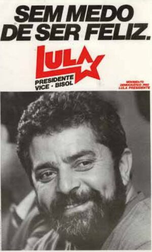 Cover Brazilian Workers' Party. Part 1: PT Publications 1980-2002 and Newspaper Clippings 1980-1984
