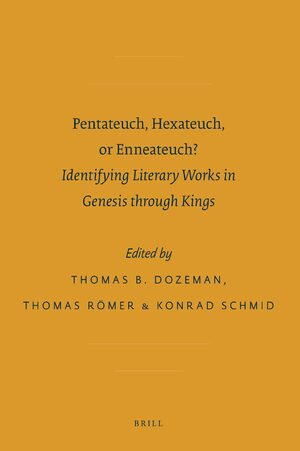 Cover Pentateuch, Hexateuch, or Enneateuch?