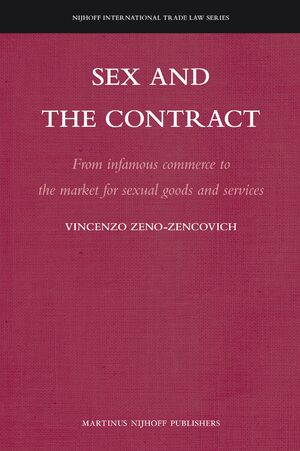 Cover Sex and the Contract