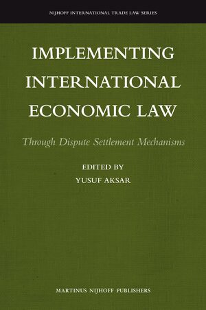 Cover Implementing International Economic Law