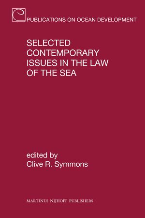 Cover Selected Contemporary Issues in the Law of the Sea