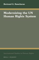 Cover Modernizing the UN Human Rights System