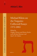Cover Michael Klein on the Targums
