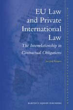 Cover EU Law and Private International Law