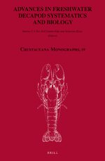 Cover Advances in Freshwater Decapod Systematics and Biology