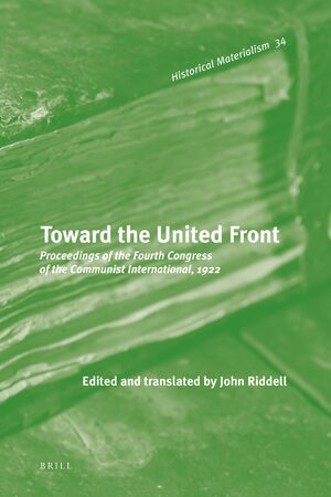 Cover Toward the United Front