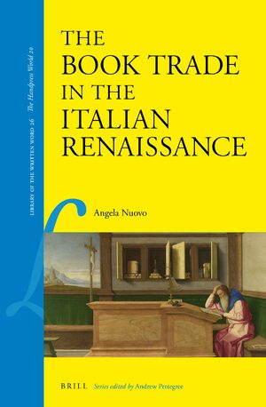 Cover The Book Trade in the Italian Renaissance