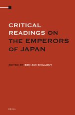 Cover Critical Readings on the Emperors of Japan (4 Vols. SET)