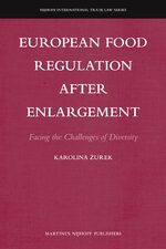 Cover European Food Regulation after Enlargement