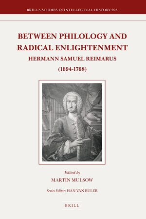Cover Between Philology and Radical Enlightenment