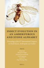 Cover Insect Evolution in an Amberiferous and Stone Alphabet