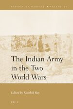 Cover The Indian Army in the Two World Wars