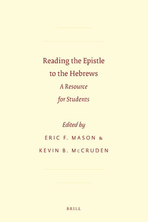 Cover Reading the Epistle to the Hebrews