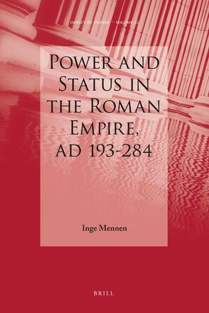 Cover Power and Status in the Roman Empire, AD 193-284