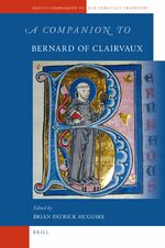 Cover A Companion to Bernard of Clairvaux