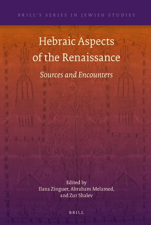 Cover Hebraic Aspects of the Renaissance