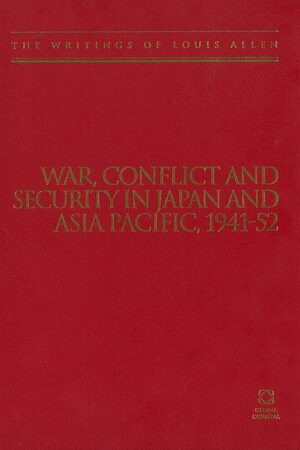 Cover War, Conflict and Security in Japan and Asia Pacific, 1941-1952