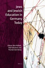 Cover Jews and Jewish Education in Germany Today