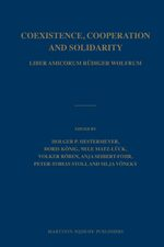 Coexistence, Cooperation and Solidarity (2 vols.)