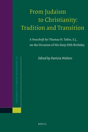 Cover From Judaism to Christianity: Tradition and Transition