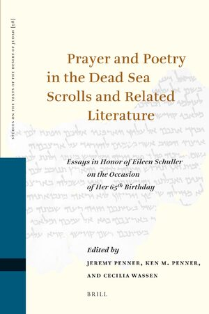 Cover Prayer and Poetry in the Dead Sea Scrolls and Related Literature