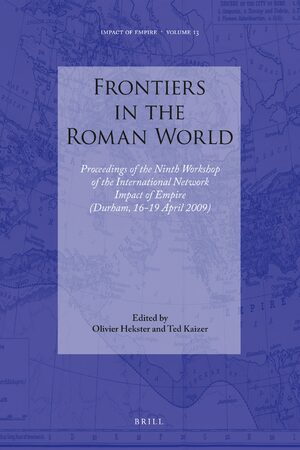 Cover Frontiers in the Roman World