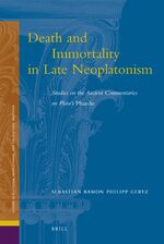 Death and Immortality in Late Neoplatonism