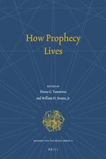 Cover How Prophecy Lives