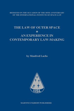 Cover The Law of Outer Space