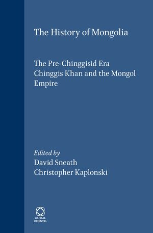 The History of Mongolia (3 Vols.)