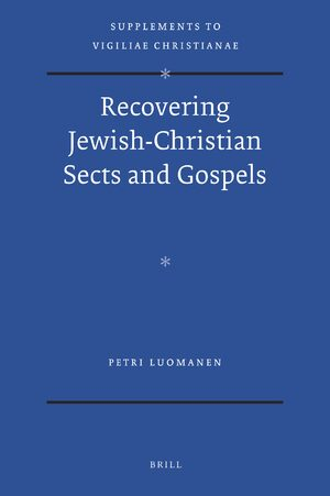 Cover Recovering Jewish-Christian Sects and Gospels