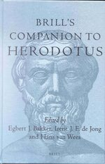 Cover Brill's Companion to Herodotus