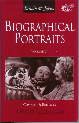 Cover Britain and Japan: Biographical Portraits, Vol. VI