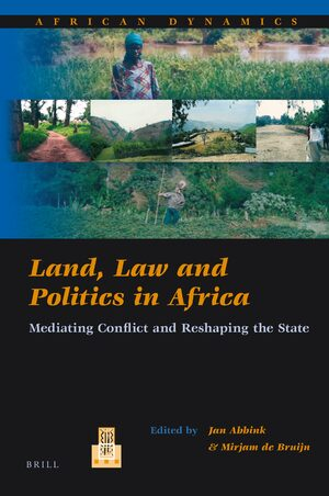 Cover Land, Law and Politics in Africa