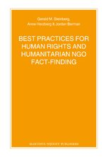 Cover Best Practices for Human Rights and Humanitarian NGO Fact-Finding
