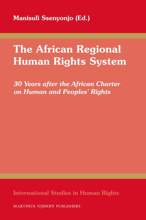 Cover The African Regional Human Rights System