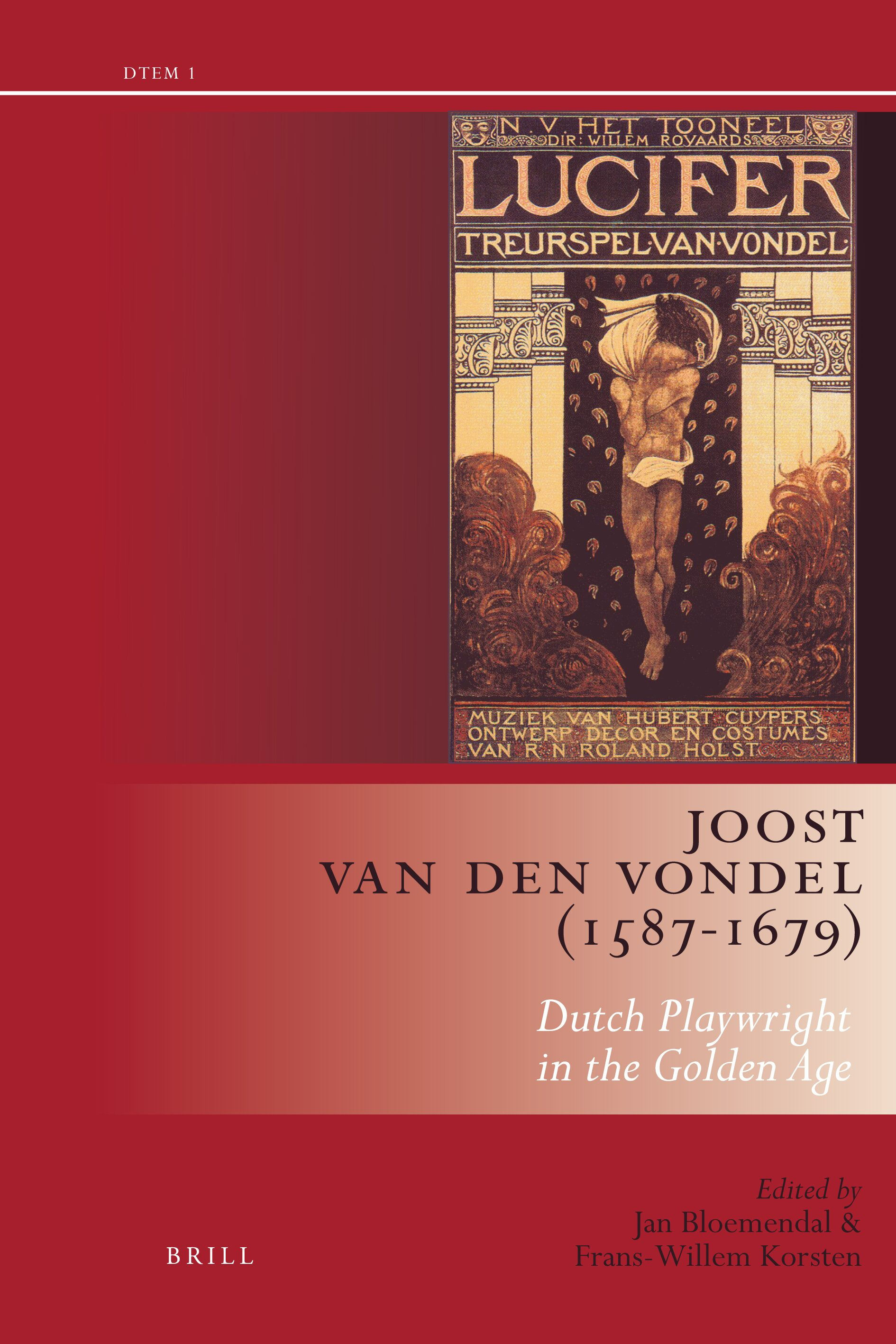 Joost Van Den Vondel 1587 1679 Dutch Playwright In The