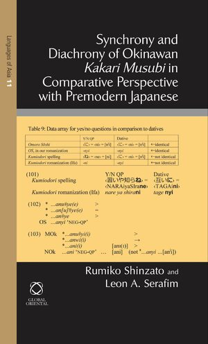 Synchrony and Diachrony of Okinawan <i>Kakari Musubi</i> in Comparative Perspective with Premodern Japanese