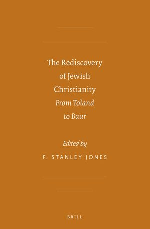 Cover The Rediscovery of Jewish Christianity