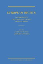 Cover Europe of Rights: A Compendium on the European Convention of Human Rights