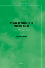 Cover Places of Memory in Modern China