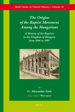 Cover The Origins of the Baptist Movement Among the Hungarians