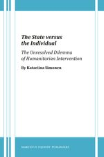 Cover The State versus the Individual