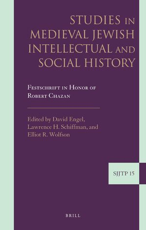 Cover Studies in Medieval Jewish Intellectual and Social History