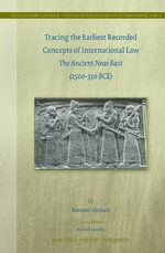 Cover Tracing the Earliest Recorded Concepts of International Law