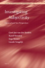 Cover Investigating Subjectivity